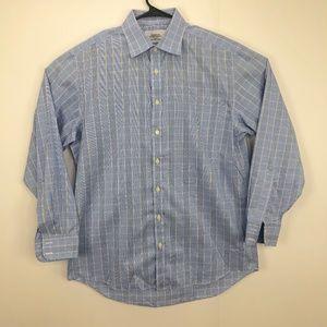 Charles Tyrwhitt 16.5/35 Button Front Dress Shirt